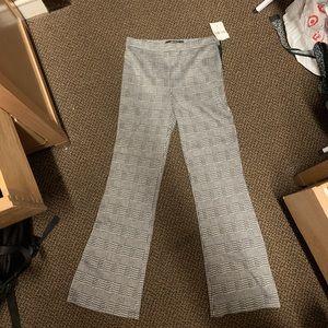 Flared printed pants
